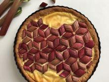 Tarta rabarbarowa mozaika