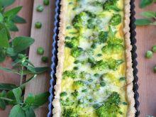 Tarta serowa z zielonymi warzywami
