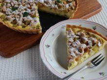 Tarta serowo – rabarbarowa z nutą cynamonu