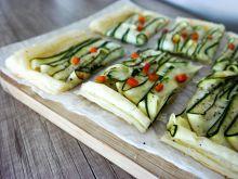 Tarta z cukinią i pastą wasabi