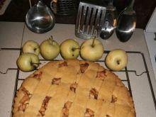 Tarta z jabłkami papierówkami