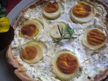 Tarta z jajkiem pod pierzynką koperkową