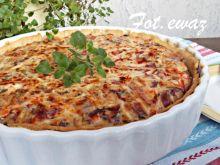 Tarta z kiełbasą i warzywami