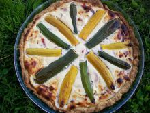 Tarta z ricottą i warzywami