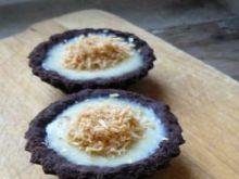 Tartaletki cynamonowe z kremem imbirowym