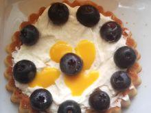 Tartaletki z ajerkoniakiem i borówkami