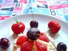 Tartaletki z lodami i owocami