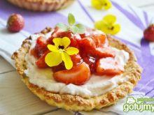 Tartaletki z mascarpone i truskawkami