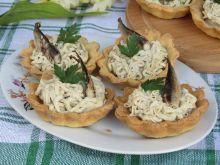 Tartaletki z pastą rybno- jajeczną