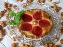 Tartaletki z serem i śliwkami