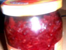 Tarte buraczki z czerwona papryką.