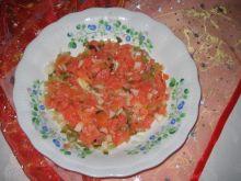 Tatar z wędzonego łososia
