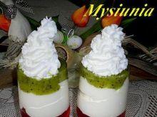 Tęczowy deser z mascarpone
