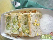 Terrina z kalafiora i brokułu