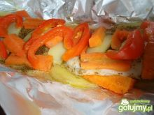 Tilapia z warzywami