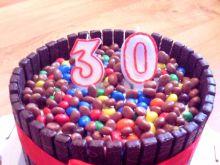 Tiramisu, czyli torcik urodzinowy ze słodkościami