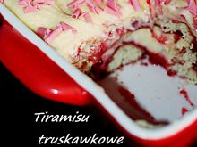 Tiramisu truskawkowe