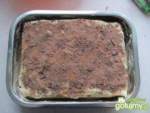 Tiramisu z amaretto i czekoladą