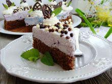 Torcik czekoladowo-jagodowy