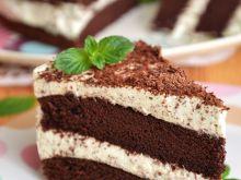 Torcik czekoladowo-miętowy