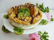Torcik karpatkowy o smaku kiwi