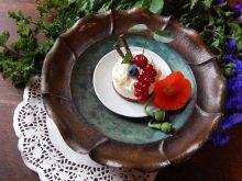 Torcik lodowy z owocami