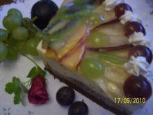 Torcik -owoc w glazurze