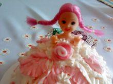 Torcik-słodka Barbie