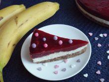 Torcik truskawkowo-bananowy