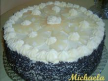 Tort ananasowy