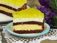 Tort ananasowy- śmietanowy z galaretką