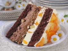 Tort bakaliowo - owocowy