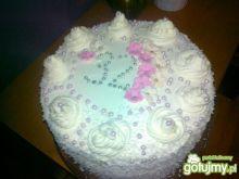 Tort brzoskwiniowo kokosowy