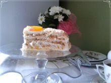 Tort brzoskwiniowy na milky way