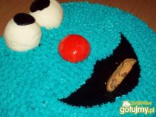 Tort cookie monster