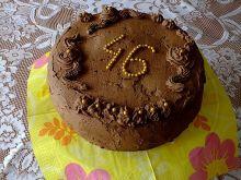 Tort czekoladowo - kakaowy