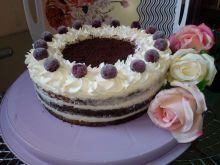 Tort czekoladowo - śmietankowy