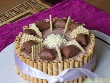 Tort czekoladowy Crispello