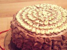 Tort - czekoladowy przekładaniec