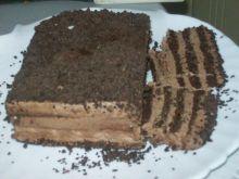 Tort czekoladowy z kremem kawowym