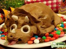 Tort dinozaur triceratops
