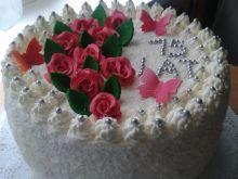 Tort dla jubilatki