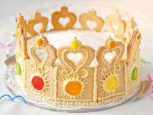 Tort dla małej księżniczki- KORONA