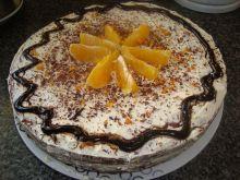 Tort domowy pomaranczowy