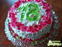 Tort galaretkowo śmietanowy