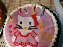 Tort hello kitty ;p