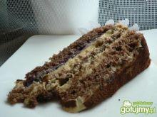Tort kakaowo-krówkowy