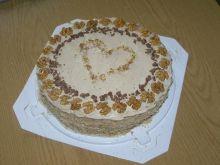 Tort kakaowo-orzechowy