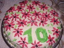 Tort kakaowo - śmietanowy