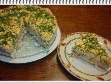 Tort kanapkowy Eli z krakersami